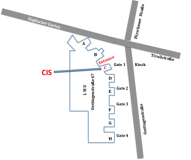 CIS: site map